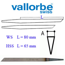 Штихель Vallorbe    Messer      LO-0406-  22 WS-80