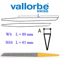 Штихель Vallorbe    Messer      LO-0406- 22 HSS