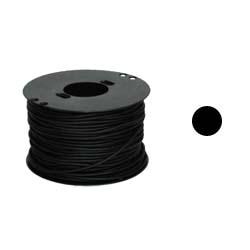Шнурок кожаный Ф3 мм черный