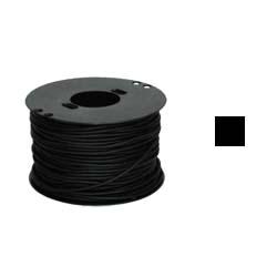 Шнурок каучук квадрат черный 4х4мм