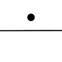 Шнурок кожаный Ф2,5мм, черный 20м